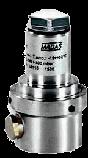 Предохранительно-сбросной клапан MVS/1, MVSP/1 (MADAS), фото 4