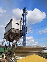 Ковшевый ленточный вертикальный элеватор Нория типа (НЦ-Н-НКЗ)