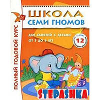 Школа Семи Гномов. Для занятий с детьми от 5-6 лет. Полный годовой курс (Комплект: 12 книг с играми и наклейками)