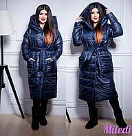 Женская зимняя куртка №108-0061 БАТАЛ