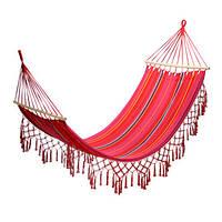 Гамак садовый Garden4you ROMANCE  200x100cm  red striped