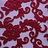 Сетка с вышивкой (P06769 дизайн 1)