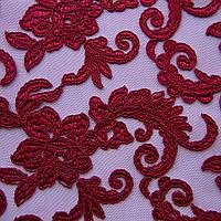 Сетка с вышивкой (P06769 дизайн 1) , фото 1