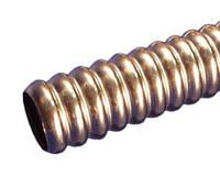 Труба гофрированная из нержавеющей стали отожженная мягкая.