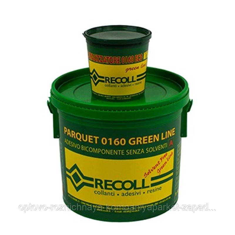 Клей для паркета и доски RECOLL 0160 GREEN LINE 2K - 10 кг.