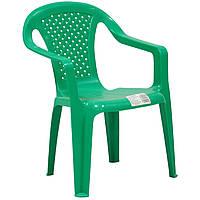Кресло пластиковое для детей Garden4you BABY  38x38xH52cm  green