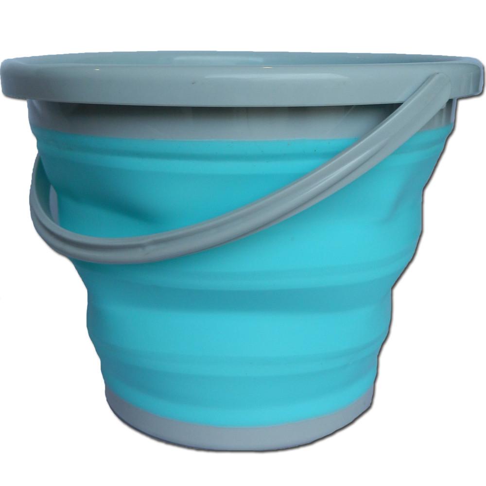 Ведро складное силиконовое (10 литров)