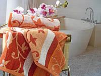Полотенце махровое 40x70  Осенний блюз