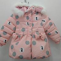 Курточка для девочки с капюшоном в двух цветах