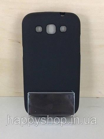 Силиконовый чехол-накладка для Samsung Galaxy J7 2015 (J700) Черный, фото 2