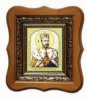 Царь Николай именная икона