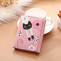 Женский кошелек Cats Pink