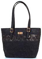 Женская сумка из качественного кожзаменителя ETERNO (ЭТЕРНО) Черный, ETZG15-16-2