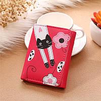 Женский кошелек Cats Hot Pink