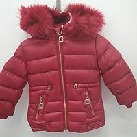 Курточка для девочки с капюшоном