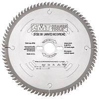 Пила дисковая 250 х 30 мм, Z 80, по дереву для раскроя плитных материалов CMT