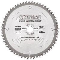 Пила дисковая 250 х 30 мм, Z 81, по дереву для раскроя плитных материалов без сколов, торцевания CMT