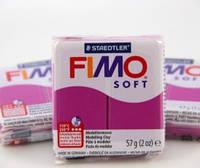 Полимерная глина пластика Фимо Софт Fimo Soft пурпур 61 - 56гр