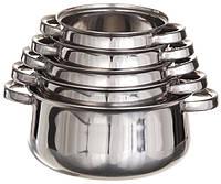 Набор кастрюль Belly из нержавеющей стали (5 шт.)