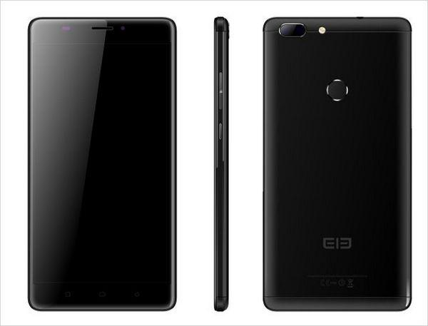 "Смартфон Elephone C1 Max Black, 2/32Gb, 13+5/2Мп, 4 ядра, 2sim, экран 6"" IPS, 2800mAh, 4G, Android 7.0"