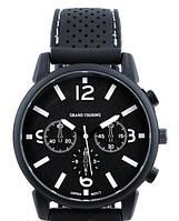 Часы мужские GT Grand Touring черные с белым