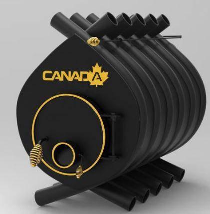 Булерьян, отопительная печь «CANADA» «04» 35 кВт-1000 м.куб., фото 2