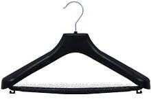 Вешалки пластиковые для костюмов и пальто 42-44 размер №08 с перекладиной