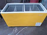 Ларь морозильный Alfa Frigor 400 л. бу, ларь с корзинами бу. , фото 4