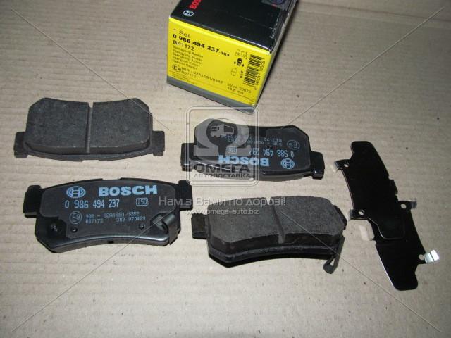 Тормозные колодки дисковые (производство Bosch) (арт. 0 986 494 237), ADHZX