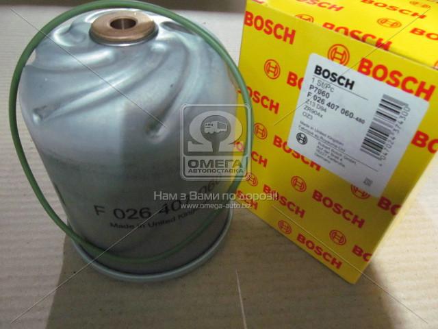 Фильтр масляный (производство BOSCH) (арт. F 026 407 060)