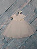 Нарядное платье с пышной юбкой для девочки, р. 80