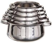 Набор кастрюль Belly из нержавеющей стали (5 шт.), фото 1
