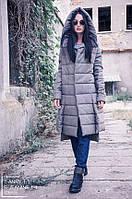 Зимнее брендовое пальто