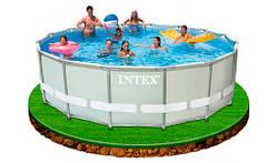 Каркасные бассейны большие круглые «Ultra Frame» от Intex и Bestway
