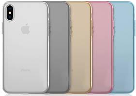 Силиконовый чехол для iPhone X XS