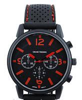 Часы мужские GT Grand Touring черные с красным