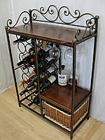 Комод-бар для вина и аксессуаров  -  113-3-21