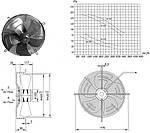 Вентилятор осевой YWF-6E-400-S Weiguang, фото 2