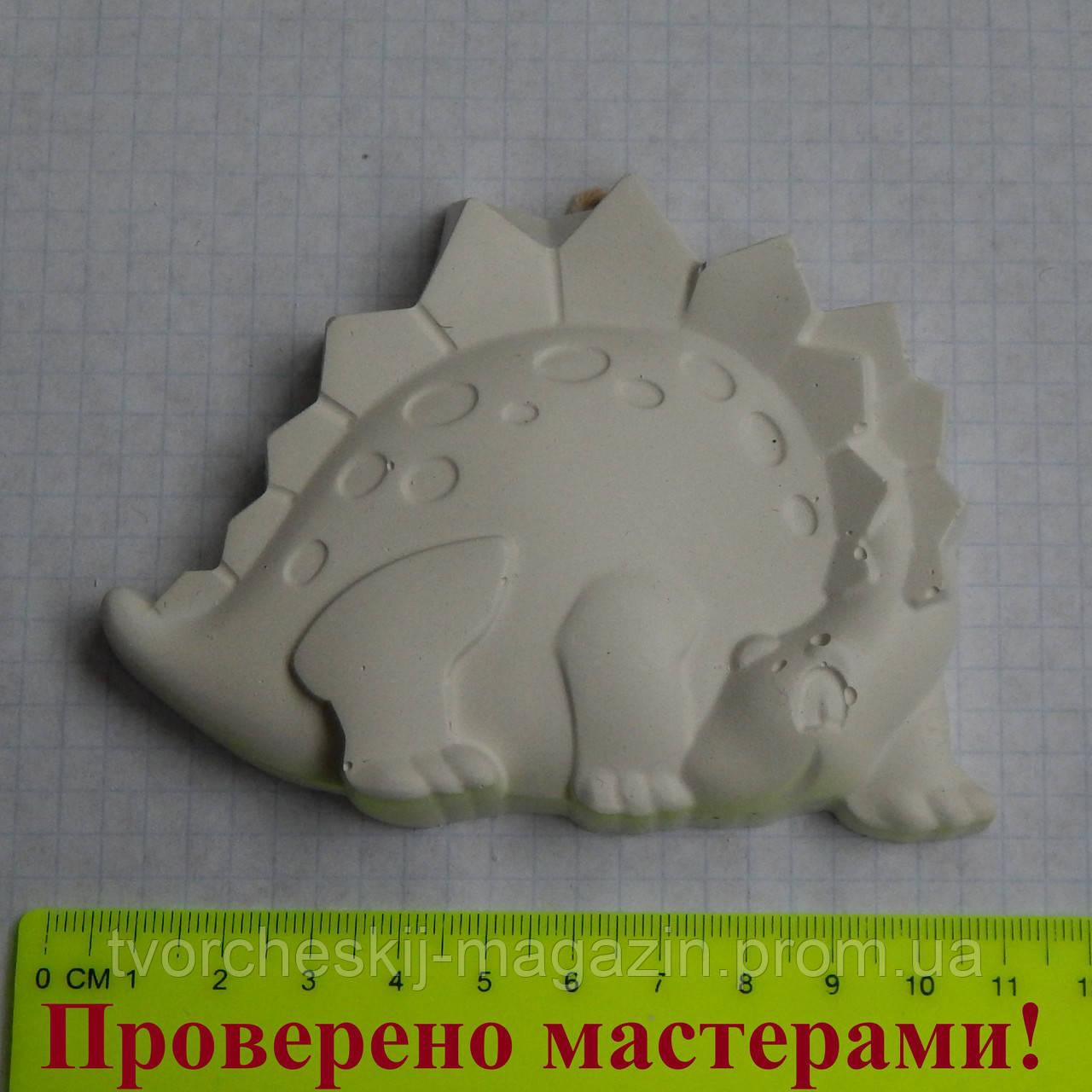 Фигурка из гипса. Гипсовая фигурка для раскрашивания Динозавр 1