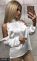 Блуза 52400-1 белый Зима (МШ)