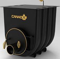 Булерьян, отопительная печь «CANADA» с варочной поверхностью «02» 18 кВт-450 М3