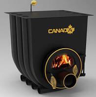 Булерьян, отопительная печь «CANADA» с варочной поверхностью+стекло «02» 18 кВт-450 М3