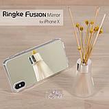 Чохол Apple iPhone X, Ringke серія Fusion Mirror, колір Silver, фото 8