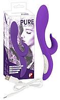 Вибромассажёр Pure Lilac Vibes Dual Motor