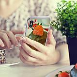 Чохол Apple iPhone X, Ringke серія Fusion Mirror, колір Silver, фото 6