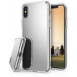Чохол Apple iPhone X, Ringke серія Fusion Mirror, колір Silver, фото 2