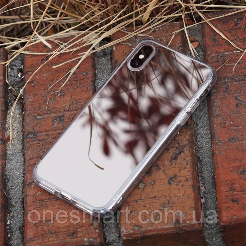 Чохол Apple iPhone X, Ringke серія Fusion Mirror, колір Silver