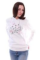Ніжна худі жіноча НЕВАГОМІСТЬ білого кольору, фото 1