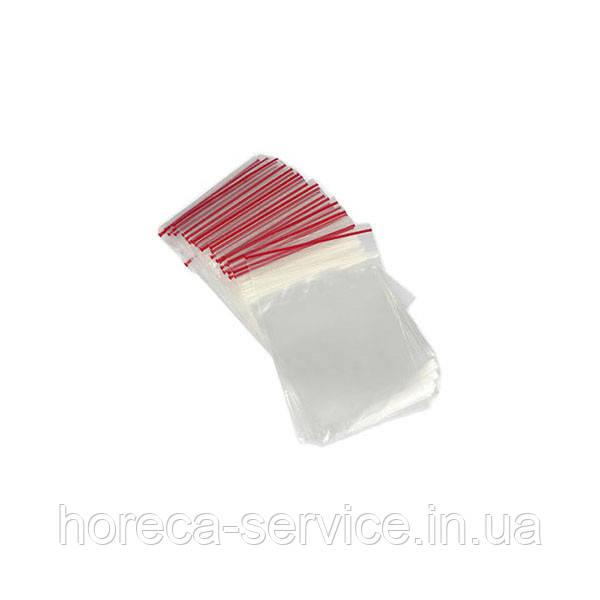 Пакеты с застежкой Zipp 6х8 100 шт.