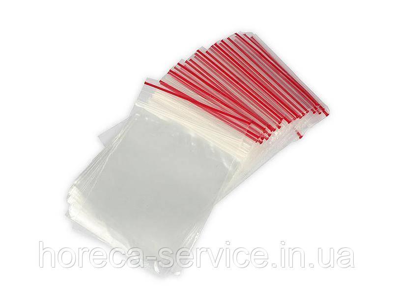 Пакеты с застежкой Zipp 7х10 100 шт.